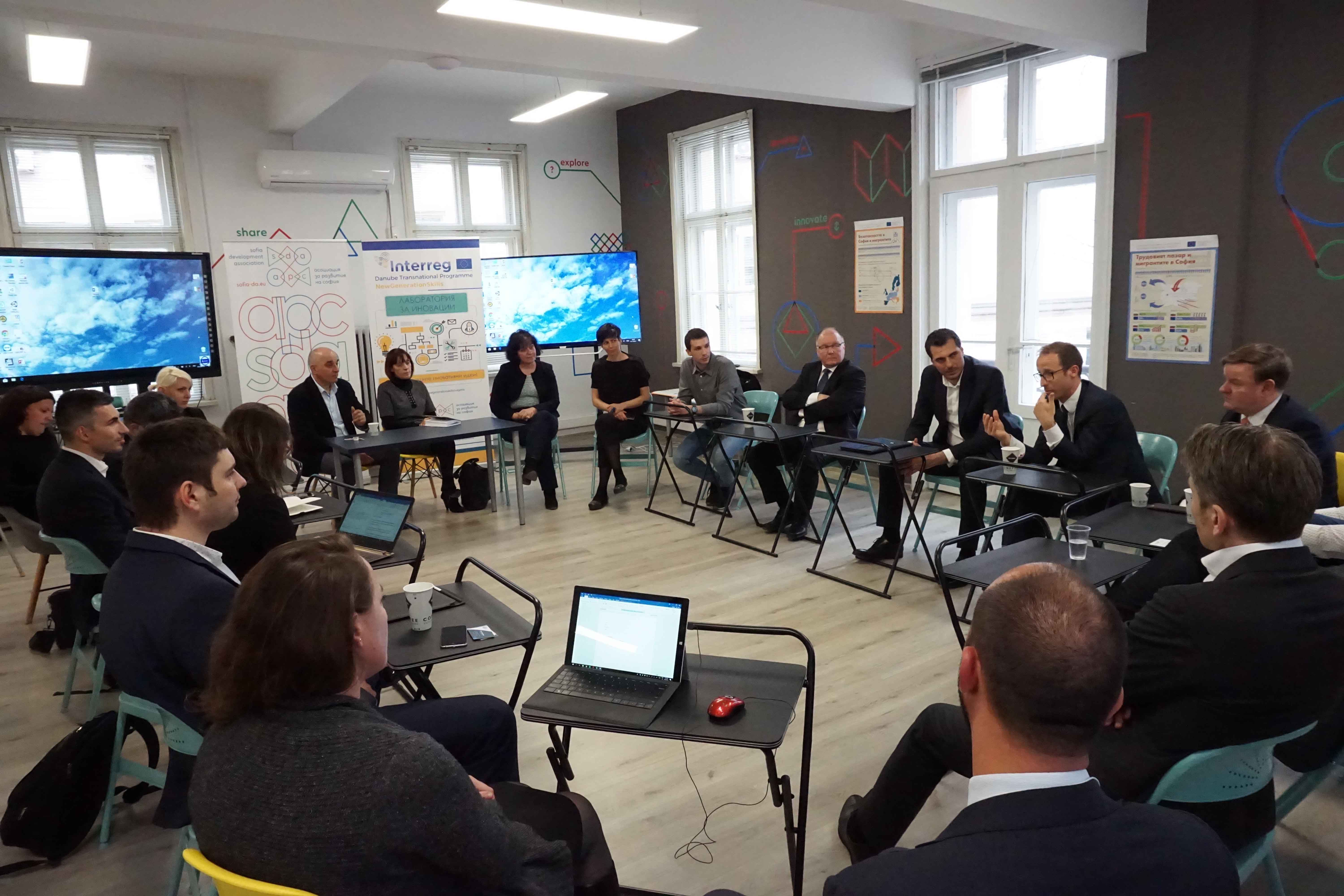 European Dialogue for Sofia Smart Office
