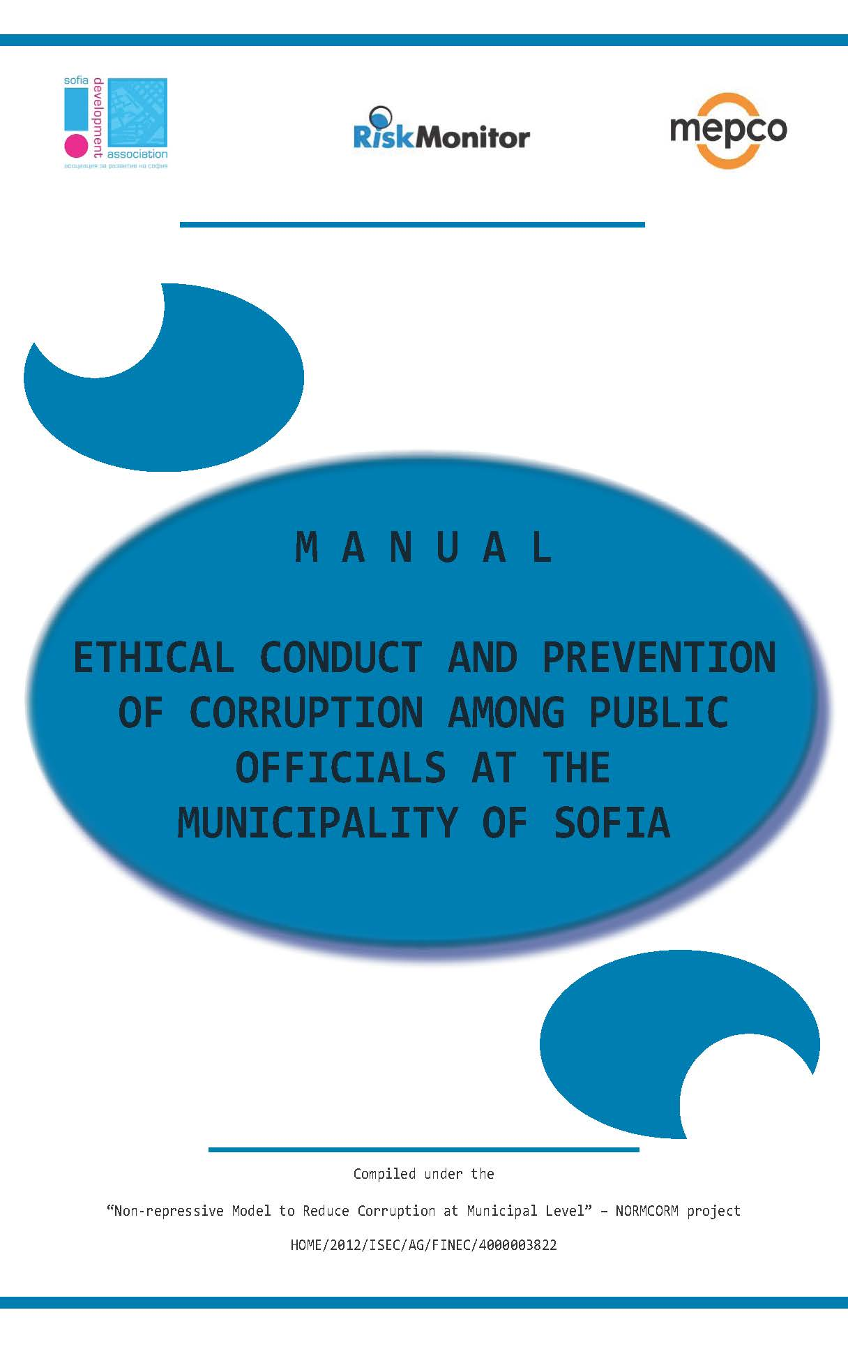 Manual Ethical Conduct And Prevention Of Corruption Among Public Officials At The Municipality Of Sofia